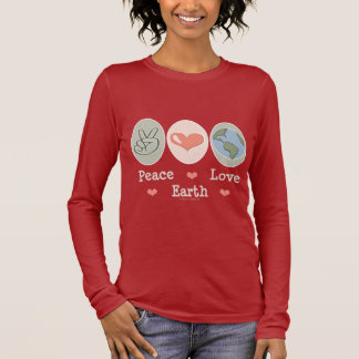 Peace Love Earth Long Sleeve Tee