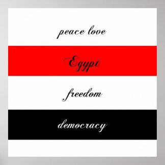 peace love Egypt Print