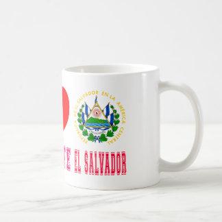 Peace Love El Salvador Coffee Mugs