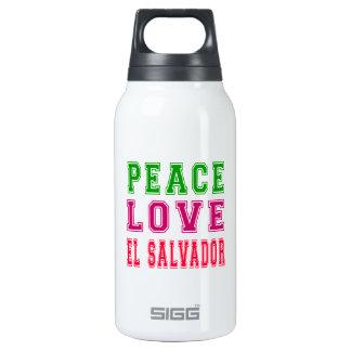 Peace Love El Salvador