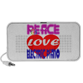 Peace Love electric piano Travelling Speakers