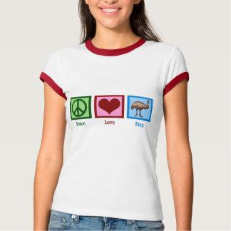 Peace Love Emu T-Shirt