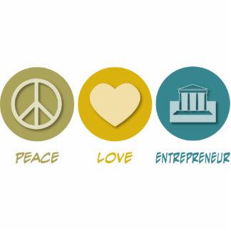 Peace Love Entrepreneur Cut Out