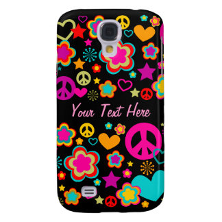Peace Love & Everything Girly Galaxy S4 Cases