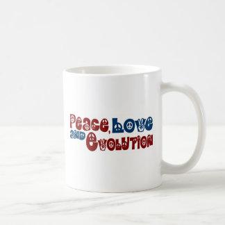 Peace Love Evolution Mug