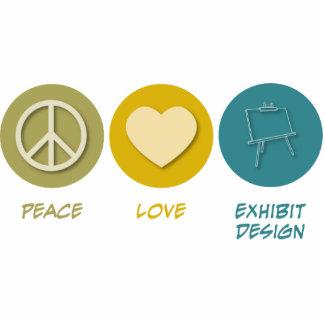 Peace Love Exhibit Design Acrylic Cut Outs