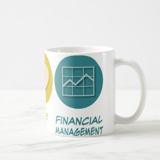 Peace Love Financial Management Coffee Mug