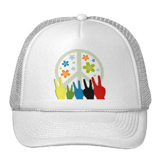 Peace Love Freedom Hat