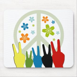 Peace Love Freedom Mouse Pad