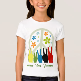 Peace Love Freedom T-shirt