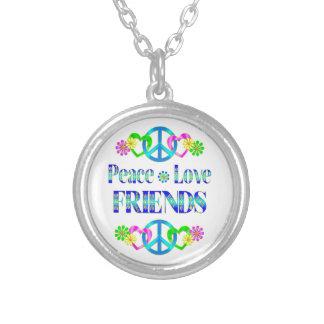 Peace Love Friends Pendant