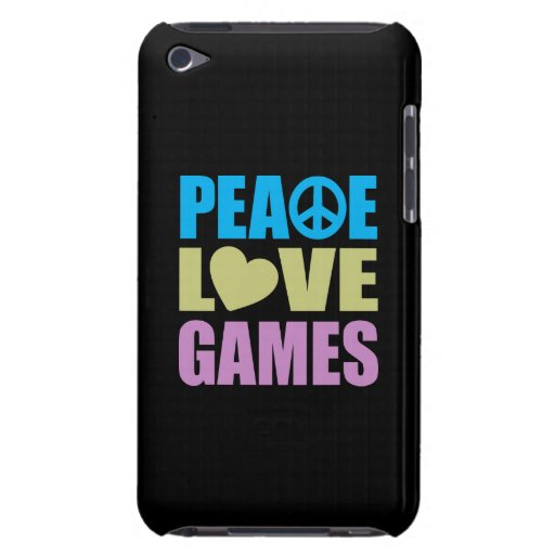 Peace Love Games iPod Touch Covers