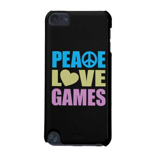 Peace Love Games iPod Touch (5th Generation) Cases