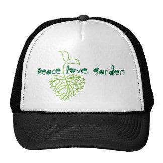 Peace, Love & Garden Cap