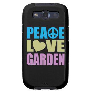 Peace Love Garden Galaxy SIII Cases