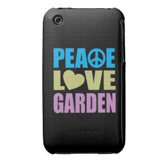 Peace Love Garden iPhone 3 Case-Mate Cases