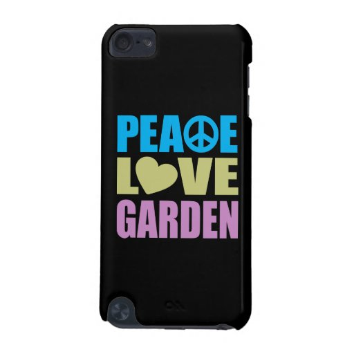 Peace Love Garden iPod Touch 5G Cases