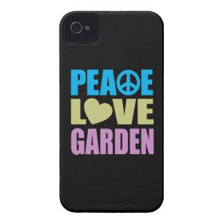 Peace Love Garden iPhone 4 Case