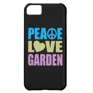 Peace Love Garden Case For iPhone 5C