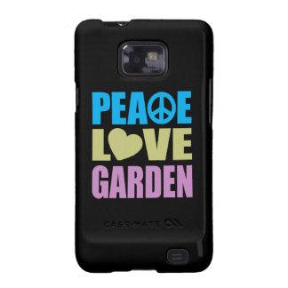 Peace Love Garden Galaxy SII Case