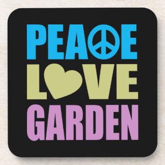 Peace Love Garden Coaster