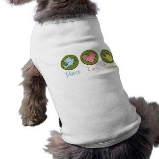 Peace, Love, Garden Dog Clothes