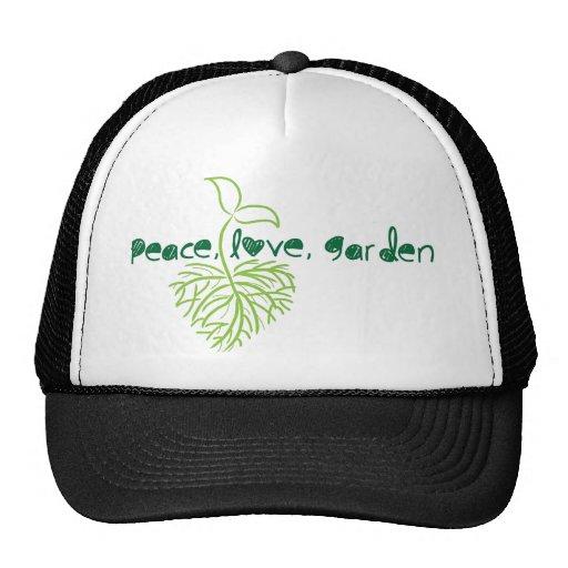 Peace, Love & Garden Hat
