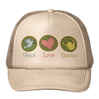 Peace, Love, Garden Hats