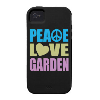 Peace Love Garden iPhone 4/4S Cover