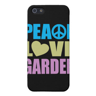 Peace Love Garden iPhone 5 Cases