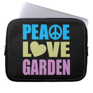 Peace Love Garden Computer Sleeve