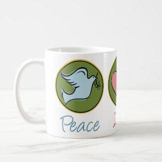 Peace, Love, Garden Mugs