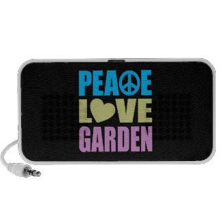 Peace Love Garden Mp3 Speakers