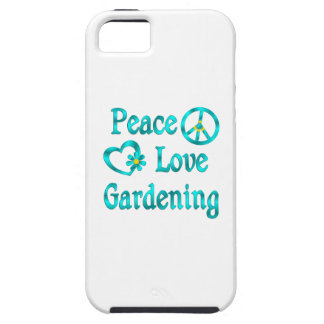 Peace Love Gardening iPhone 5 Cover
