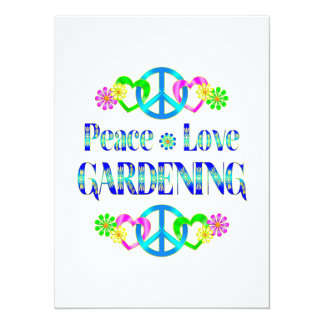 Peace Love Gardening Announcements