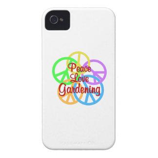 Peace Love Gardening iPhone 4 Case