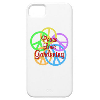 Peace Love Gardening iPhone 5 Case
