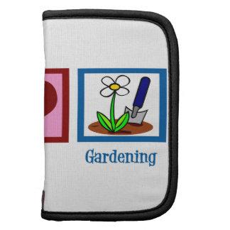 Peace Love Gardening Folio Planners