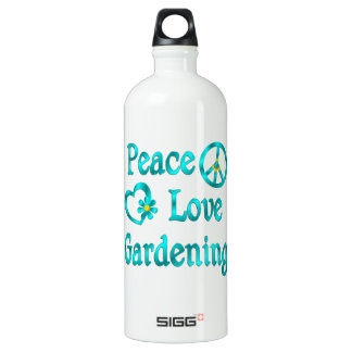 Peace Love Gardening SIGG Traveller 1.0L Water Bottle
