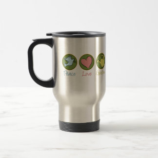 Peace Love Gardening Stainless Steel Travel Mug