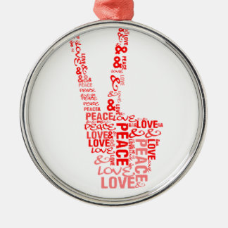 Peace & Love - Give peace a chance Ornaments