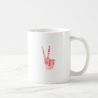 Peace & Love - Give peace a chance Mugs