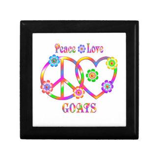 Peace Love Goats Gift Box