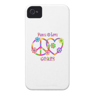 Peace Love Goats iPhone 4 Case-Mate Cases