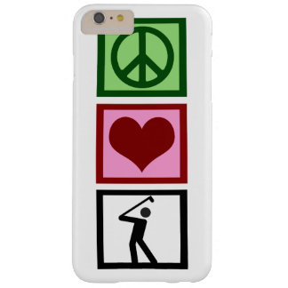Peace Love Golf Barely There iPhone 6 Plus Case