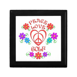 Peace Love Golf Gift Box