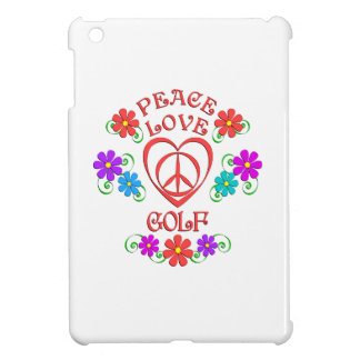 Peace Love Golf iPad Mini Cases