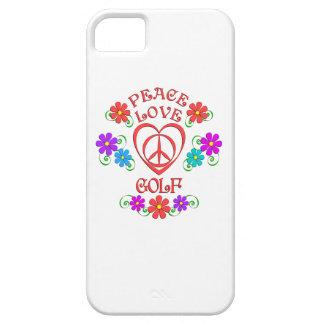 Peace Love Golf iPhone 5 Case