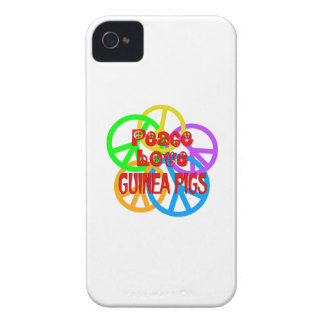 Peace Love Guinea Pigs Case-Mate iPhone 4 Case