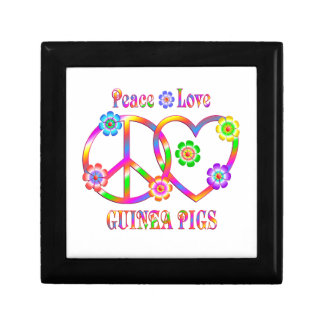 Peace Love Guinea Pigs Gift Box